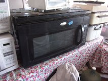 Black Whirlpool Under the Counter Microwave in Fort Riley, Kansas