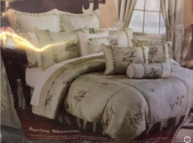 Comforter Set Spring Blossom Queen 15 pc Set in Tinley Park, Illinois
