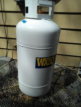 Propane tank 40 pound like new  dated aug. 2017 in Hopkinsville, Kentucky