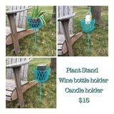 Outdoor Post Plant Stand in Naperville, Illinois