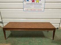 Mid Century Modern MCM Mersman Solid Wood Wood Laminate top coffee table in Naperville, Illinois
