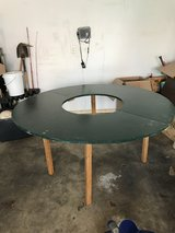 Circular play table with center opening in Fort Campbell, Kentucky
