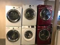 Front load washer and dryer electric in Kingwood, Texas