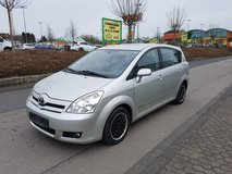 2006 Toyota COROLLA VERSO 7 seats * 2.0 turbo diesel *NEW INSPECTION.cruise control *A/c in Spangdahlem, Germany