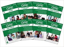 Manhattan Prep GRE Set of 8 Strategy Guides in Ramstein, Germany