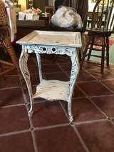 "Small accent table 17""square 27""tall in Kingwood, Texas"