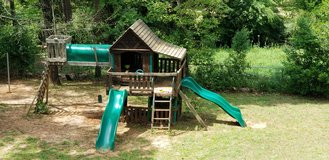 Outdoor Wooden Playset free in Perry, Georgia