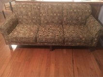 Brown Retro Pattern Couch in Fort Campbell, Kentucky