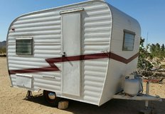 Rare Vintage 1961 Globe Travel Trailer-13Ft in Yucca Valley, California