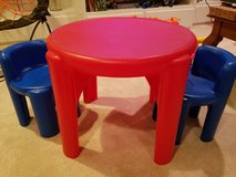 Little Tikes table and chairs in Plainfield, Illinois