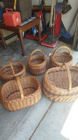 Baskets from Poland in Fort Rucker, Alabama