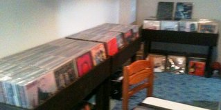 Personal collector buying vinyl records/albums/lp's, CD's, and cassettes. Hope we can do business. in Oswego, Illinois