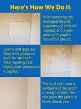 Holes in drywall, water damage, rotted wood - We can fix it! in Fort Campbell, Kentucky