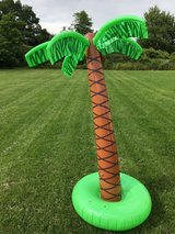 blow-up Palm Tree in Fort Drum, New York