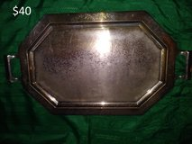 Silver Serving Tray in Yucca Valley, California