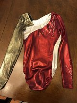 GK Red/Gold Leotard in Yorkville, Illinois