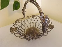 Silver plated basket in Alamogordo, New Mexico