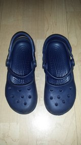 Girls Shoes Crocs Mary Janes Size 10-11 in Lockport, Illinois