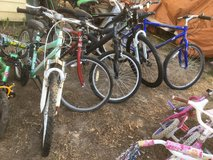 All bikes $25 and under in Fort Riley, Kansas