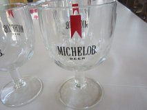 Vintage Michelob Beer Goblets in Oswego, Illinois