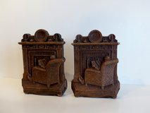 SET OF VINTAGE SYROCO BOOKENDS in Tinley Park, Illinois