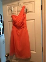 Coral David's Bridesmaid dress in Plainfield, Illinois