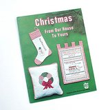 1978 CHRISTMAS CROSS STITCH Charts & Projects Bk Ornaments + in Chicago, Illinois