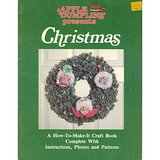 1981 Mxd Media CHRISTMAS CRAFTS Bk Soft Sculptures, Wreaths + in Aurora, Illinois