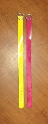 Girls bright patent belts, sz M, Limited Too (Justice) in Fort Campbell, Kentucky