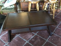 "Coffee table 26x48  18""tall  2 end tables 23x 23 square 24"" tall in Cleveland, Texas"