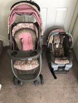 Graco FastAction Fold DLX Travel System - Jacqueline in Fort Drum, New York
