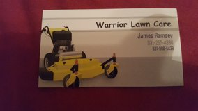 Warrior lawn care in Fort Campbell, Kentucky