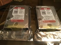 2 Brand New Hard Drives 2.0TB -SATA /64 MB WD20EFRX-$80.00 each- still in package never opened in Byron, Georgia