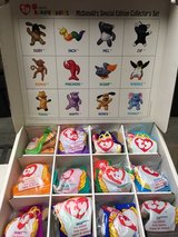 McDonald's Teenie Beanie Babies Special Edition Collector's Set-1998 in Bolingbrook, Illinois
