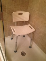 Shower Chair- adjustable in Naperville, Illinois