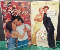 Love Story Comedy Romance VHS Matthew McConaughey Kate Hudson Christian Slater in Tinley Park, Illinois