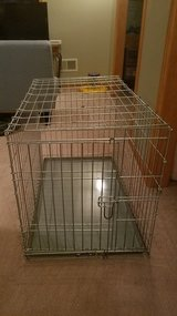 Dog Crate Metal Foldable in Joliet, Illinois