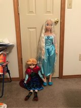 Elsa & Anna in Fort Carson, Colorado