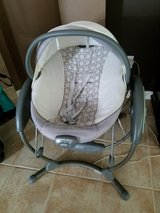 Graco soothing vibrations swing/bouncer/bassinet in Baytown, Texas