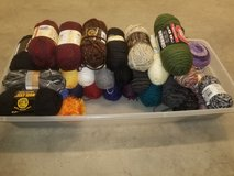 Assorted yarns in Fort Campbell, Kentucky
