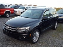 '14 VW Tiguan SEL Automatic AWD (4 motion) in Spangdahlem, Germany