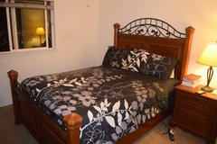 3 PCS SOLID WOOD QUEEN BEDROOM SET in Schofield Barracks, Hawaii