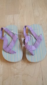 New with Tags! Girls Shoes - Old Navy Sandals Sz 9/3T in Plainfield, Illinois