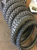 4 Rear Scorpion Tires  MX  Mid Hard 554  120/80-19   63 m  &  2 Front Tires Geomax MX 51FA 80/10... in Fort Rucker, Alabama