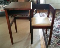 Original Antique Telephone Table /Gossip Bench w/Chair Closes Square in Orland Park, Illinois