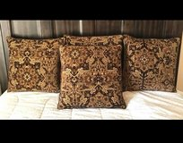 Brown Decor Pillows Set in Fort Bliss, Texas