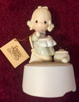 Musical Figurine Precious Moments MOTHER SEW DEAR 1981 You Light up my Life in Tinley Park, Illinois