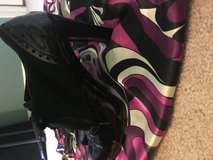 Size 8 Coach lace up heels in Fort Polk, Louisiana