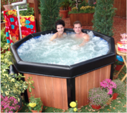 Brand New Spa Hot Tub Jacuzzi and Brand New Filters/Solutions in Byron, Georgia
