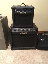 crate 65GLX 3 channel amp in St. Charles, Illinois